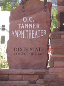 O. C. Tanner Amphitheater Zion