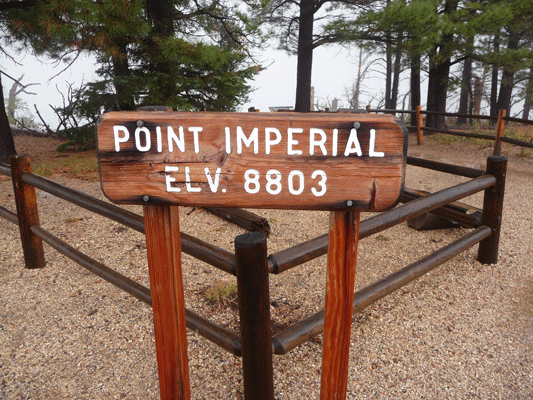 Point Imperial North Rim Grand Canyon