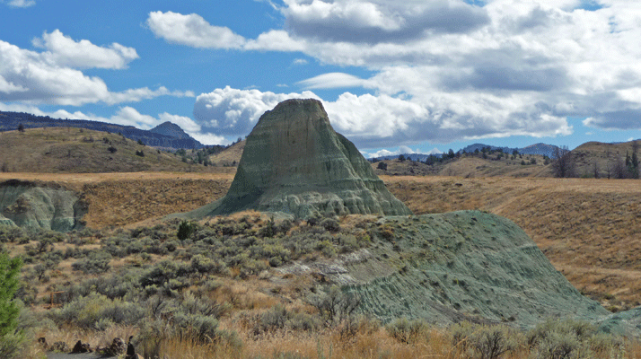 Story in Stone Picnic area John Day Fossil Beds OR