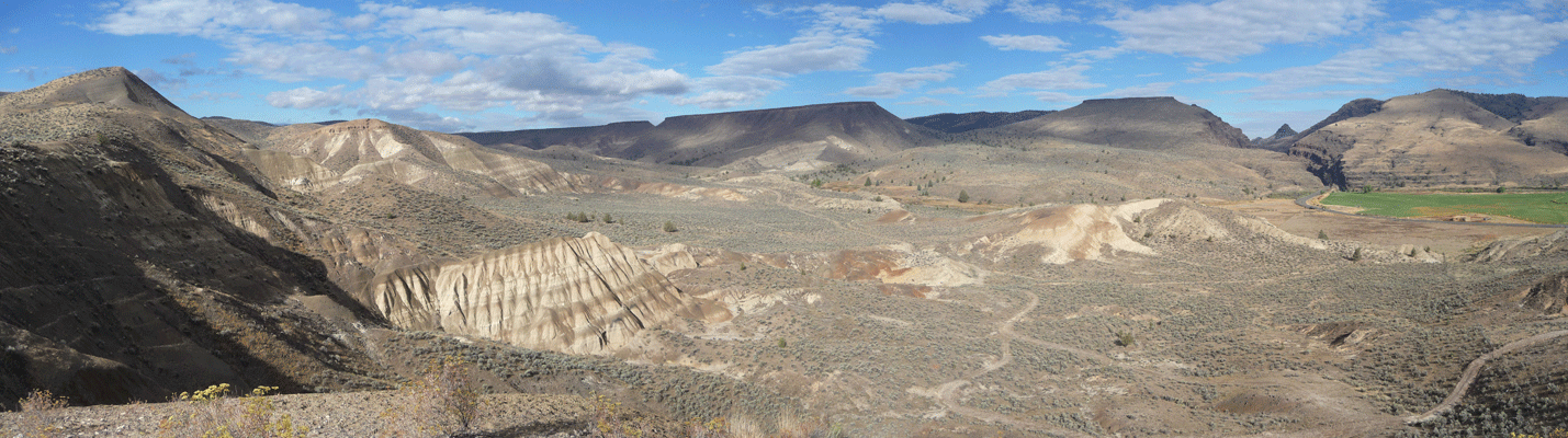 Mascall Formation John Day Fossil Beds OR Panorama