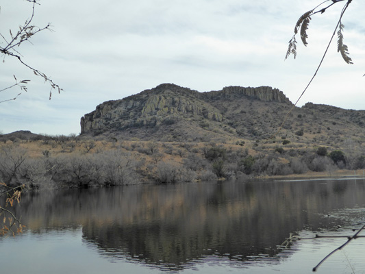 East side of Arivaca Lake
