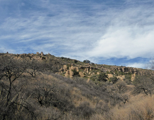 Hoodoos at Arivaca Lake