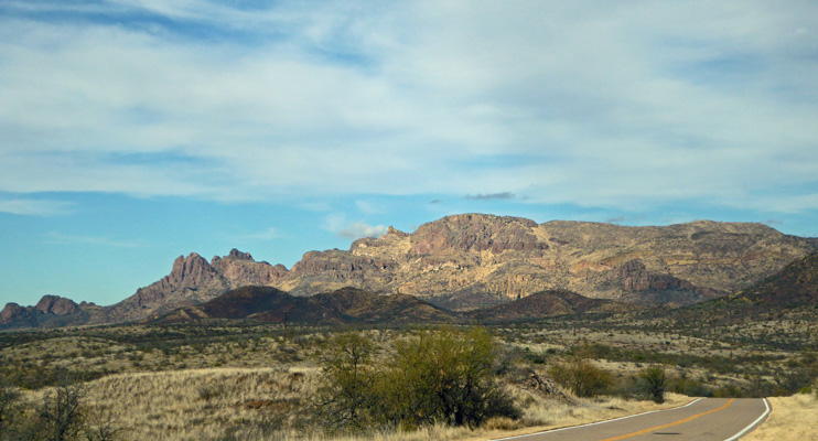 Mountains outside of Arivaca AZ