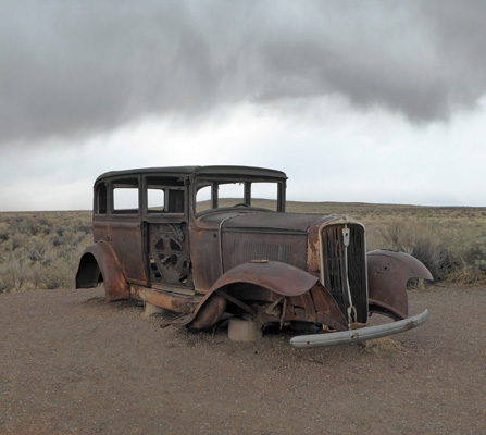 1932 Studebaker Route 66 Petrified Forest NP