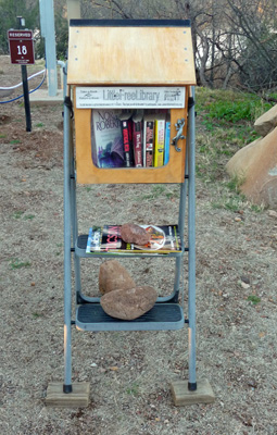 Little Free Library at Patagonia Lake SP