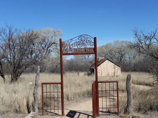 Empire Ranch Heritage Discovery Trail Gate