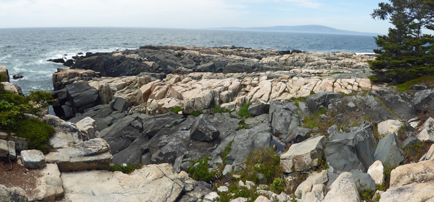 Frenchman Bay from Schoodic Pen.