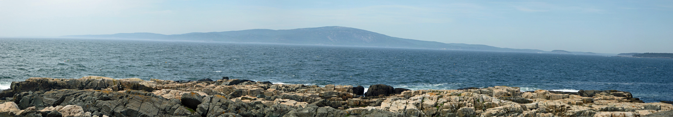 Cadillac Mt from Schoodic Pen.