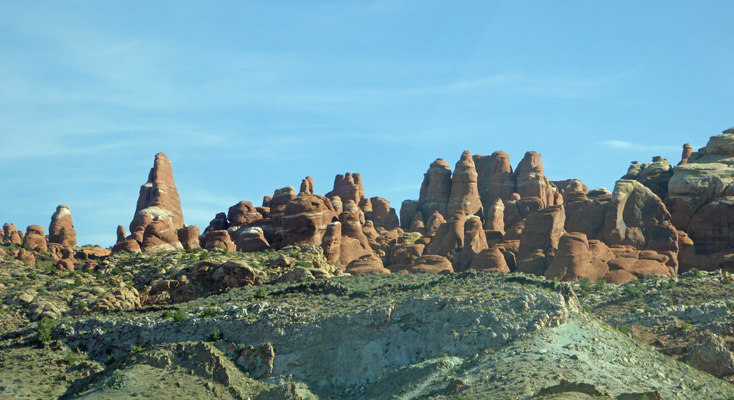 Fiery Furnace area Arches NP