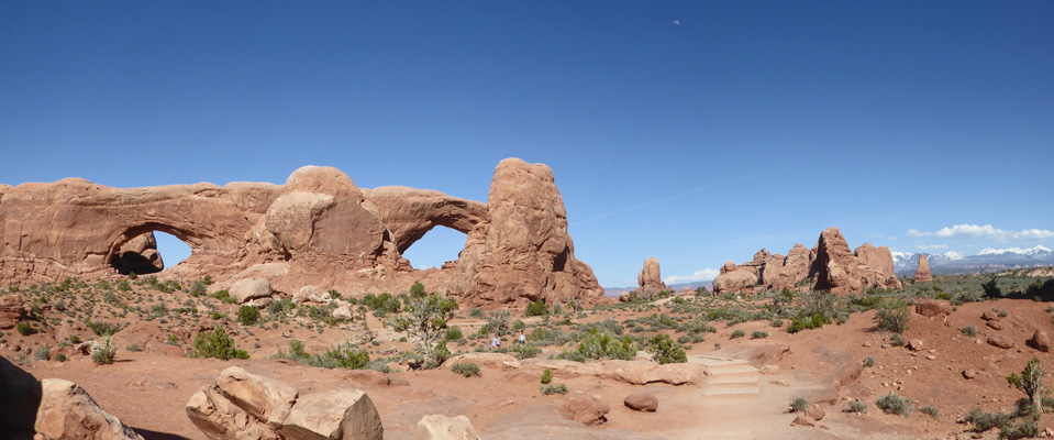 North and South Arches