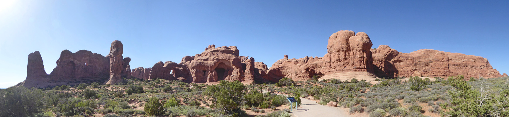 Double Arch panorama