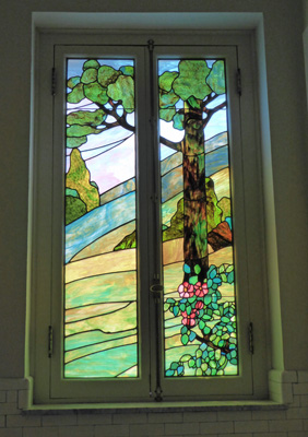 Fordyce stained glass
