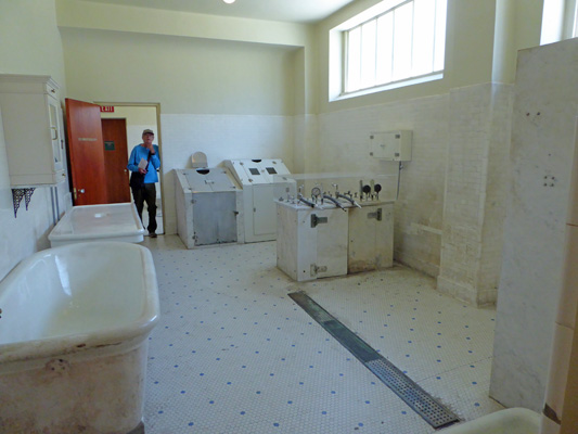 Fordyce Hydrotherapy room