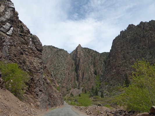 gunnison canyon from Crystal Dam