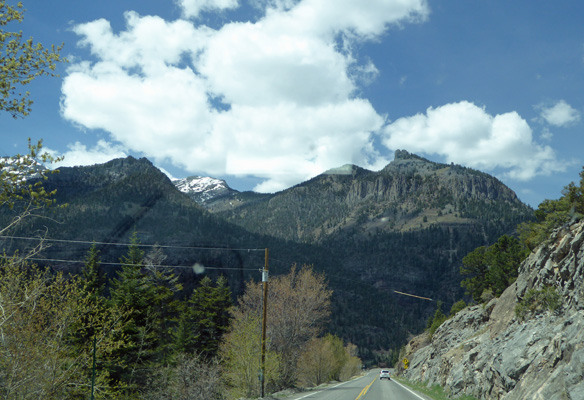 Outside Ouray CO