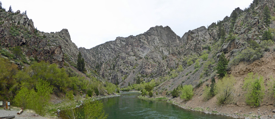East Portal Gunnison near campground