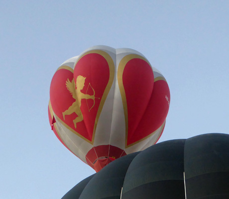 Cupid and hearts balloon