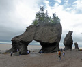 Lovers Arch Hopewell Rocks NB