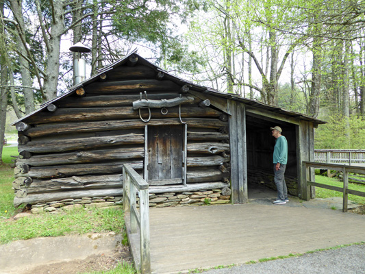 Mabry Mill blacksmith shop