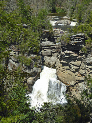 Upper and Lower Linville Falls