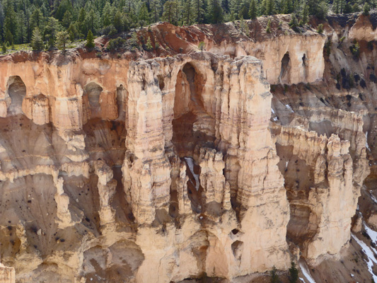 Bryce Point arches