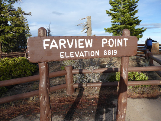 Fairview Point sign