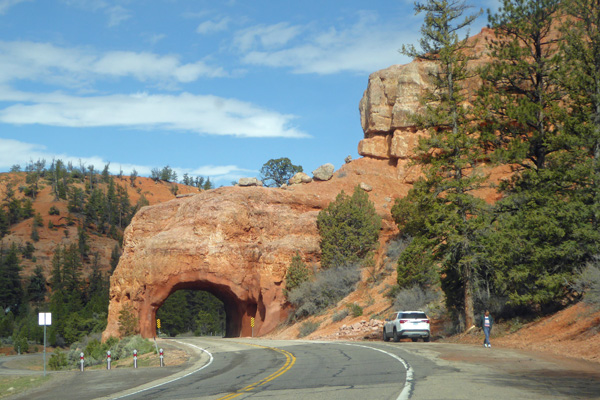 Tunnel in Red Rock Canyon UT