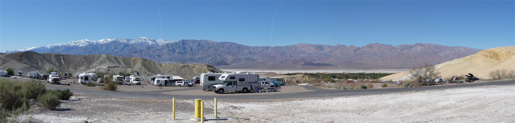 Death Valley Panorama from Texas Springs Campground