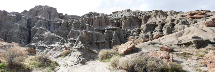 Rock formations at Red Rock State Park CA