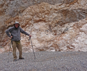 Walter Cooke in Titus Canyon Death Valley National Park CA