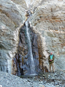 Walter Cooke at Willow Canyon Falls Death Valley National Park CA
