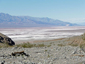 Death Valley National Park CA from Willow Canyon Trail
