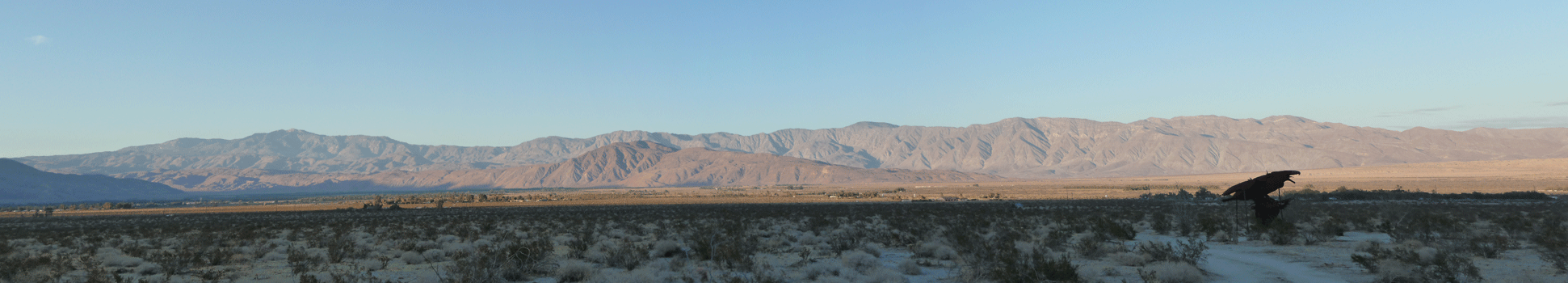 Borrego Springs afternoon light