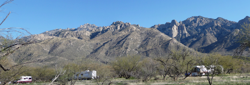 Catalina State Park Campground Panorama