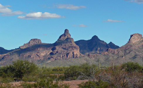 View from rest stop north of Organ Pipe National Monument