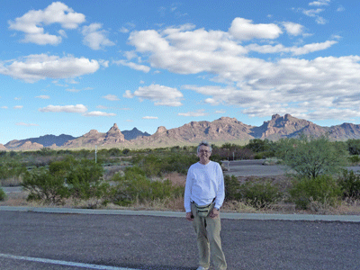 Walter Cooke north of Organ Pipe National Monument