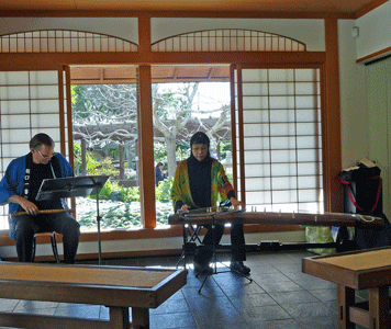 Shakuhachi flute and Koto concert San Diego