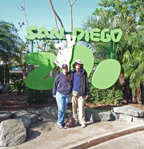 Tracy Cooke and Walter Cooke San Diego Zoo
