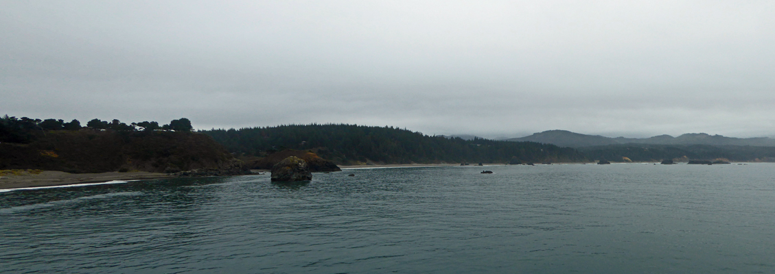 Port Orford southward view