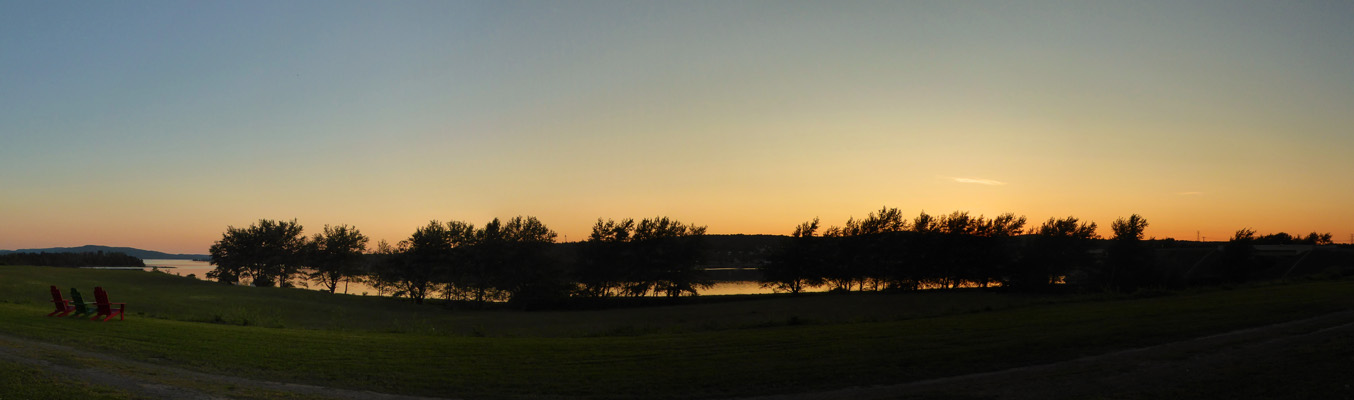 Sunset Arm of Gold Campground NS