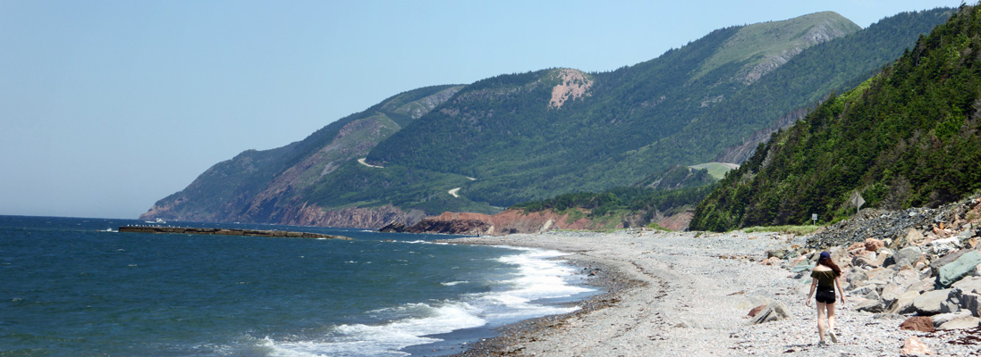 North from La Bloc Cape Breton