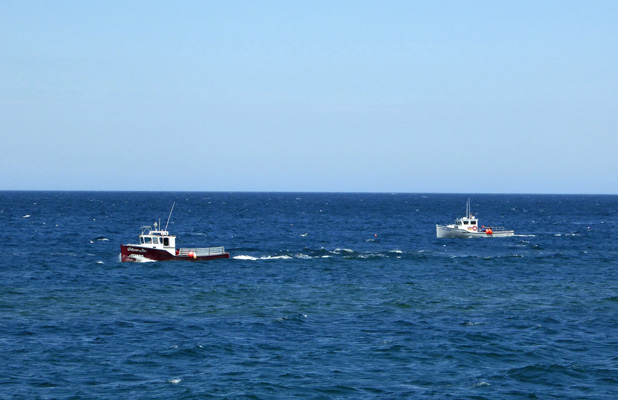Fishing boats Cape Breton