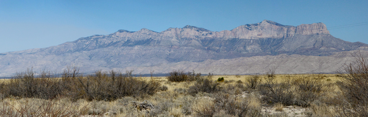 Guadalupe Mountains TX