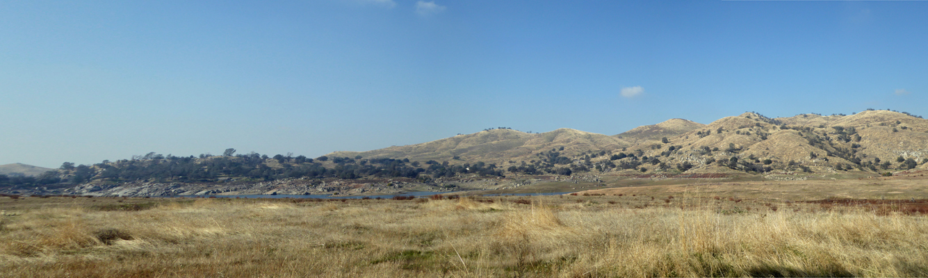 Millerton Lake panorama