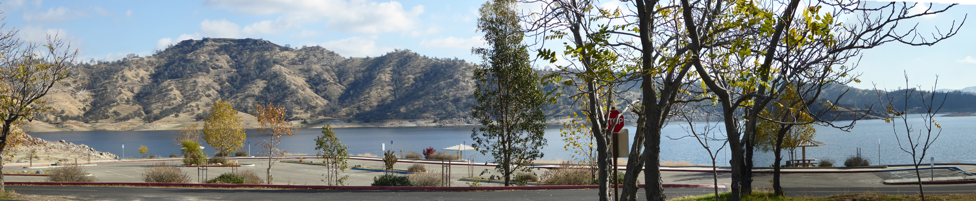 Millerton Lake Meadow viewpoint