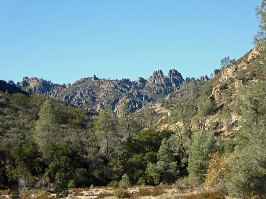 Peaks View Pinnacles NP