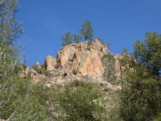 Condor Gulch Trail rocks
