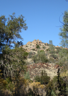 Old Pinnacles Trail view