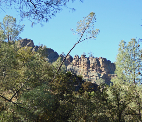 Balconies Cliffs Pinnacles NP