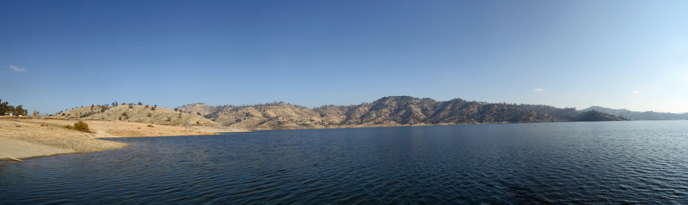 Millerton Lake from Meadow boat launch